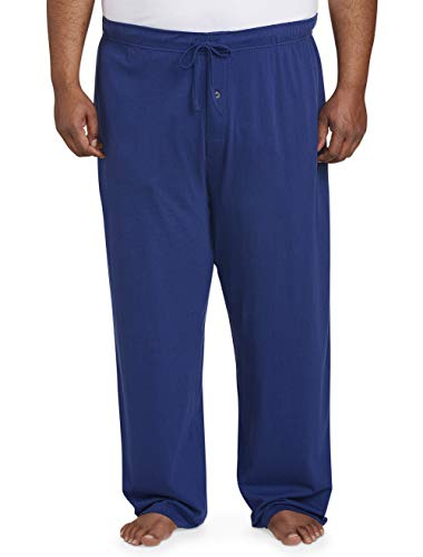 - Amazon Essentials Men's Big and Tall Knit Pajama Pant fit by DXL, Blue, 3X