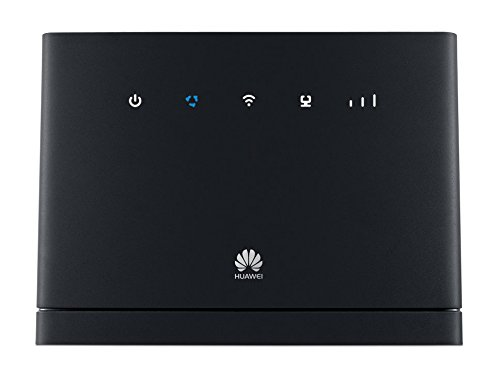 Huawei B315s-22 Unlocked 4G/LTE CPE 150 Mbps Mobile Wi-Fi Router (3G/4G LTE in Europe, Asia, Middle East, Africa) NOT US (Black)