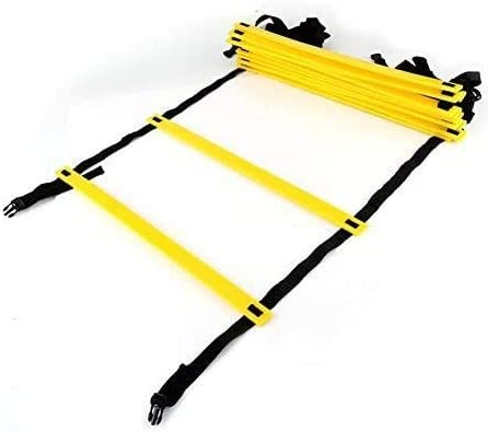 VGEBY Agility Ladder 19 Feet, 12 Adjustable Flat Rungs with Carrying Bag for Speed Training