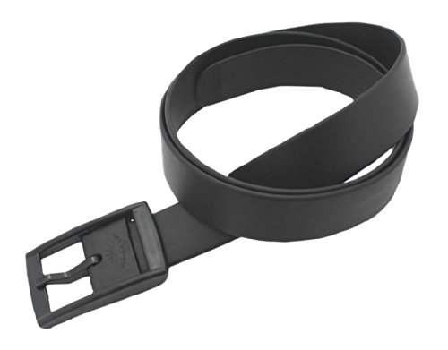 BONAMART Men Women Unisex Rubber Plastic Belt 119CM, with Plastic Buckle Candy Color-Clearance Sale ()
