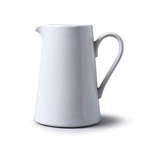 WM Bartleet & Sons 1750 T374 Straight Sided Jug, White