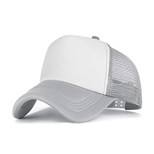 Genius-route-store 2019 Summer Baseball Cap Women Men Mesh Breathable Snapback Cap Unisex Adjustable Sport Hats (Mall Enfield Ct Enfield)