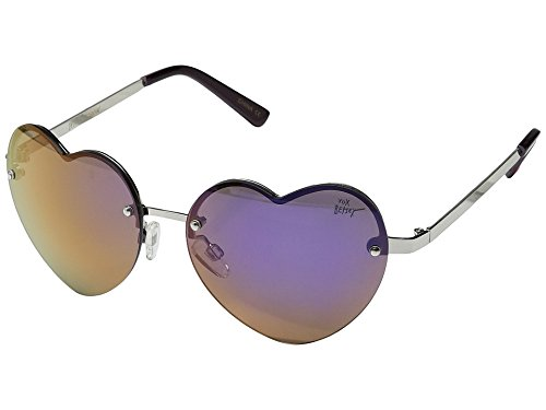 Betsey Johnson Women's BJ475121 Lav - Shaped Face Heart Sunglasses