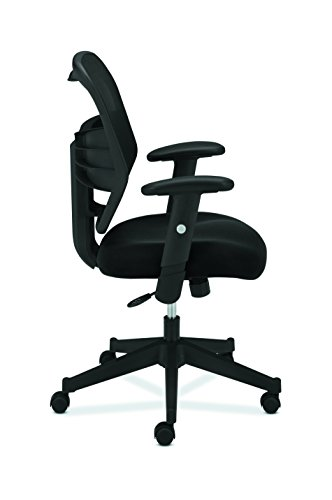 basyx by hon high back work chair mesh computer chair