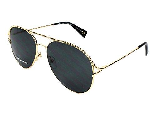 marc-jacobs-womens-marc168s-aviator-sunglasses-gold-black-gray-blue-58-mm