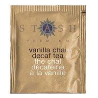 Stash Premium Tea Decaf Vanilla Chai -- 18 Tea Bags -