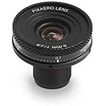 6mm PixAero Duo Lens with Manual Focus for YI 4K / 4k+ (Plus)