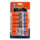 Elmers Washable Disappearing Purple School Glue Sticks, 0.21 Oz., Pack of 6 + 2 Bonus Sticks
