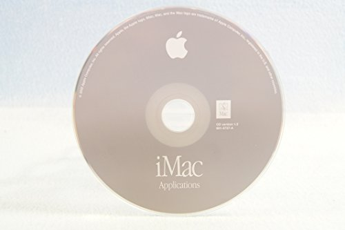 iMac Applications Genuine Macintosh Mac Part Number: 691-3737-A: CD Version 1.5 Apple Operating System Computer Software Program Replacement Disc PC