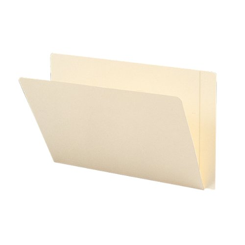 eight File Folder, Reinforced Straight-Cut Extended Tab, Legal Size, Ivory, 50 per Box (24557) ()