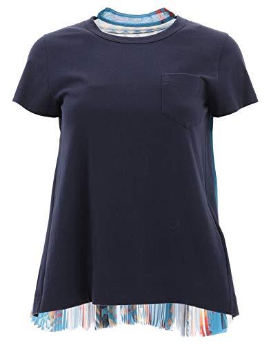 Blu Donna shirt Sacai Cotone T 1904244201 ES8wzOnq