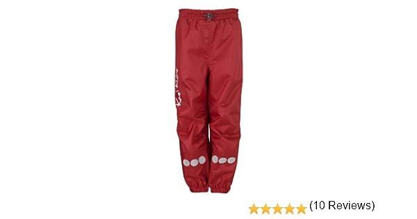 Kozi Kidz Regenhose Oxford Pantalones de Lluvia para ni/ño