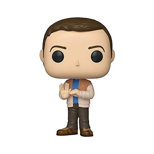 Funko- Pop Vinilo Big Bang Theory S2 Sheldon Figura Coleccionable, Multicolor, Talla unica (38580)