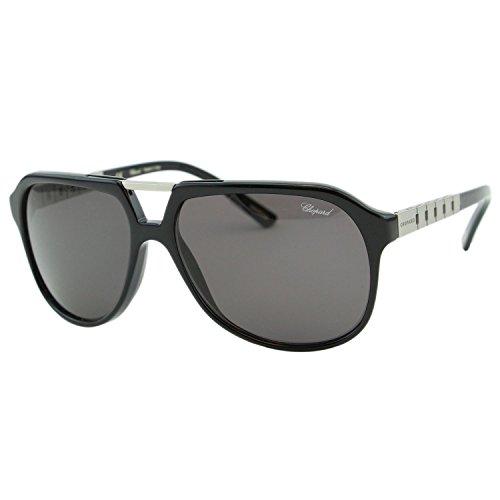 Chopard G.P.M.H SCH-179 700P Men Black Polarized Squared Aviator Racing - Sunglasses H&m Mens