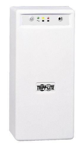 Tripp Lite INTERNETOFFICE700 700VA 425W UPS Desktop Battery Back Up Tower 120V USB RJ45 PC, 6 Outlets by Tripp Lite