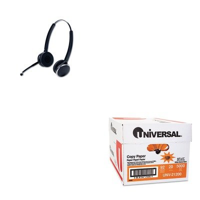 KITJBR946569804105UNV21200 - Value Kit - Jabra PRO 9465 Binaural Over-the-Head Wireless Headset (JBR946569804105) and Universal Copy Paper (UNV21200)