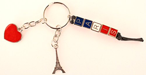 De Cuore Aker in metallo Regali Portachiavi Souvenir France Parigi Portachiavi Torre Eiffel AdtwqwnXv