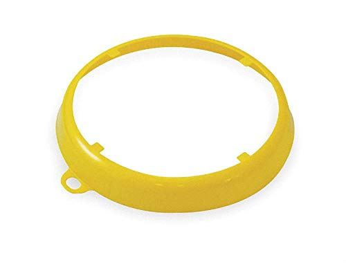 Fluid Defense Systems Color Code Drum Ring, Gloss Finish, Yellow Yellow 207009