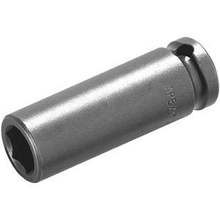 Apex 1/4 Square Drive Socket Extra Long 6 Point Hex Opening 11/32 1-3/4 OL by Apex
