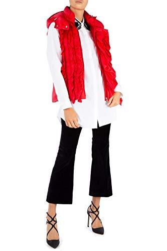 Femme 48301005396q451 Moncler Rouge Gilet Polyamide wfYHwn7q