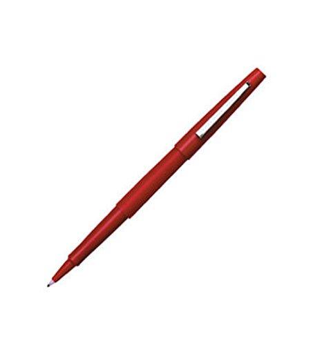 Paper Mate Flair Felt Tip Pens, Medium Point, Red, 12-Count (Felt Tip Pens Fine)