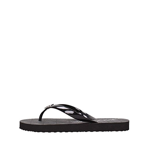 Michael Kors Jet Set Rubber Flip Flops Black - Michael Us Kors