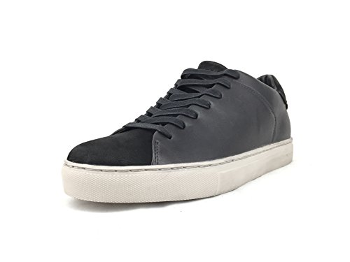 Nero E London Nera 11303 Uomo Stringata Sneakers Nabuck Scarpa In Pelle Crime w4xq8w