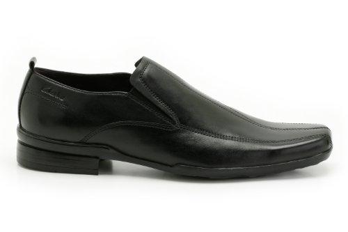 Flame Flix Black Formal Leather Mens Shoes Clarks wqB7fzOO