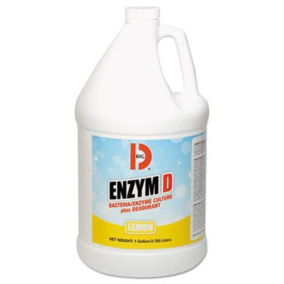 Big D BGD 1500 1 Gallon Lemon Fragrance Enzym D Digester -
