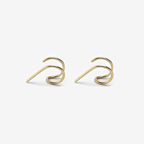 Filled Piercing Earcuff Cartilage Earring