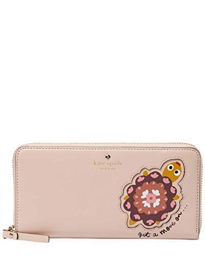 Kate Spade New York Womens Kate Spade New York Baja Bound Turtle Applique Lacey Wallet