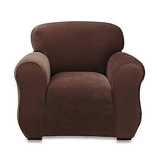Sure Fitストレッチスターリング椅子Slipcover inチョコレート   B078NB8NK3
