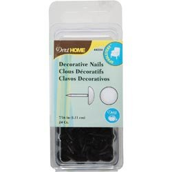 Bulk Buy: Dritz Upholstery Decorative Nails 7/16in. Head 24/