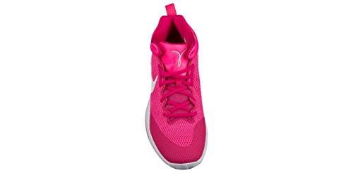 Rosa Sterk hyper Zoom Rosa Menns Hvit sko Nike 852422 Basketball Rev 2017 8Uxw6q