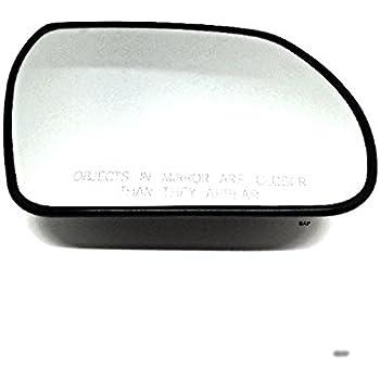 Bap Fits 07 12 Veracruz Heated Right Passenger Convex Mirror Glass W Rear Holder