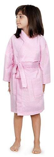 Kids Waffle Kimono Party Robe