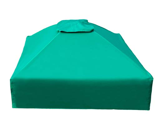 Frame It All 300001509 Square Collapsible Sandbox Cover, 4' x 4' x 13.5