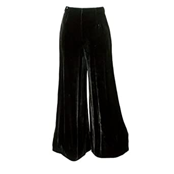 1920s Style Women's Pants, Trousers, Knickers, Tuxedo Palazzo Party Pants $217.35 AT vintagedancer.com