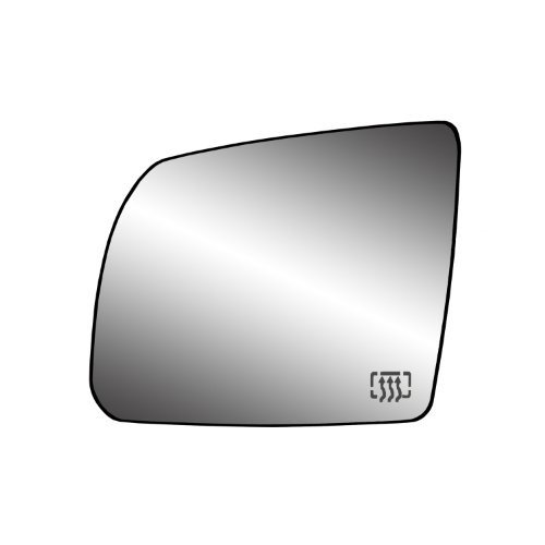 Fit System 33246 Toyota Sequoia SR5/Tundra/Tundra SR5 Model Left Side Heated Power Replacement Mirror Glass with Backing (Toyota Tundra Sr5)