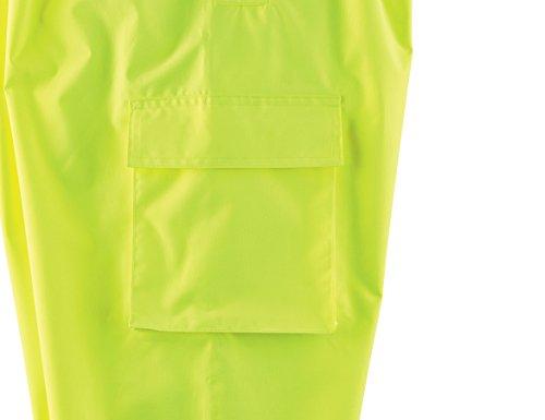 Ergodyne GloWear 8915BK ANSI Black Bottom High Visibility Lime Safety Rain Pants, 2XL by Ergodyne (Image #3)