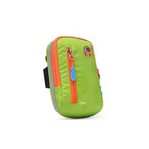 JIA HONG Sport Strap Arm Arm Tasche Handgelenktasche,Green-OneSize