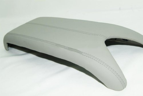 Acura RDX Leather Center Console Lid Armrest Cover Taupe (Light Gray) (Leather Part Only)