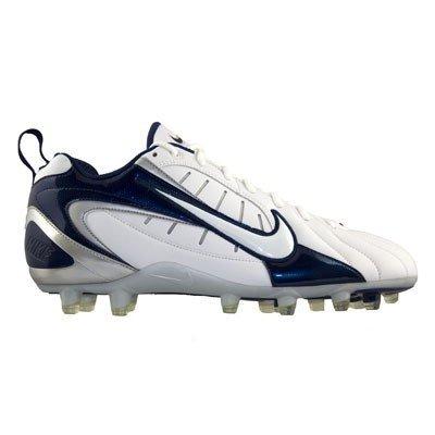 Nike Speed TD Men's Football Cleats (15, White/Navy)