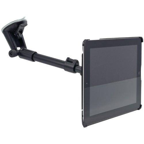 Arkon Custom Fit Apple iPad 4 3 2 Long Windshield Suction Car or Truck Mount Holder by ARKON