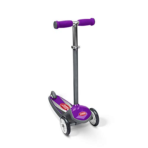 Scooter de 3 ruedas Radio Flyer Color FX EZ Glider, morado (502PPA)