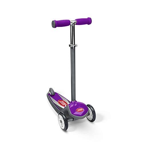 Scooter de 3 ruedas Radio Flyer Color FX EZ Glider, morado (502PPA)