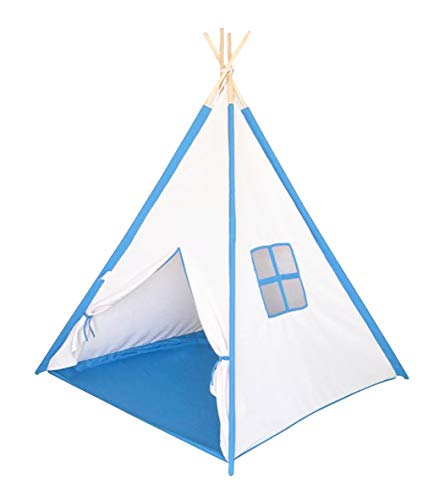 - Kids Play Teepee Tent Children Playhouse Tent for Toddler Girls and Boys Indoor Outdoor Fun