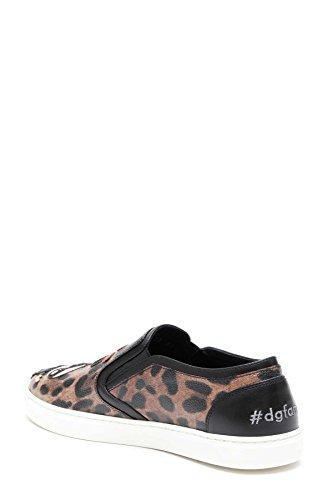 Skate de Multicolore Dolce Cuir Chaussures E CK0028AG352HA94N Femme Gabbana 8qqz01wv