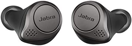 Jabra Elite 75t Earbuds – True Wireless Earbuds with Charging Case, Titanium Black – Bluetooth Earbuds with a More...