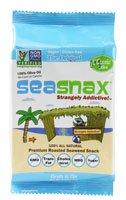 SeaSnax Grab & Go Seaweed Snacks Classic Olive -- 0.18 oz